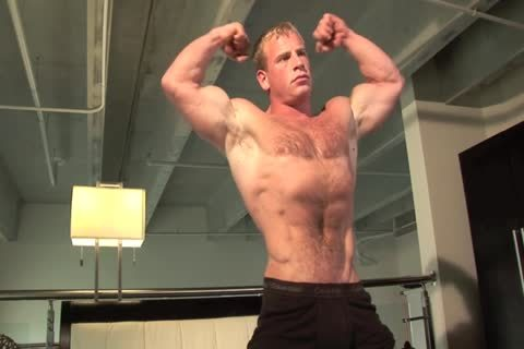 lovely Ben Kieren Bedroom Solo, hairy Muscle